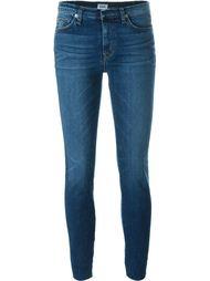 джинсы скинни с необработанными краями Hudson