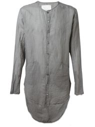 'Cassaro' long back button down shirt Nostra Santissima