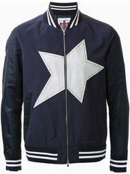 куртка-бомбер с принтом звезды Education From Youngmachines