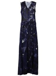 длинное платье с принтом  Ilaria Nistri