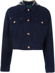 джинсовая куртка с капюшоном Jean Paul Gaultier Vintage