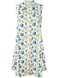 платье-рубашка с принтом Au Jour Le Jour