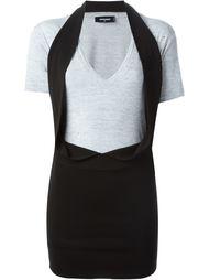 платье-футболка  Dsquared2