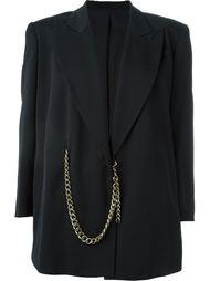 пиджак с цепочной отделкой Jean Paul Gaultier Vintage
