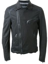 asymmetric zip jacket Drome