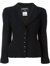 пиджак с заостренными лацканами Chanel Vintage