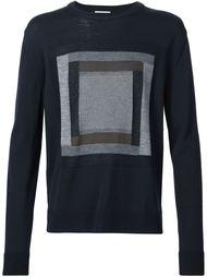 свитер с квадратным узором Wooyoungmi