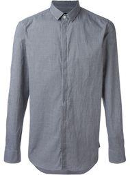 рубашка в клетку Emporio Armani