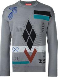 свитер с жаккардовым узором Gosha Rubchinskiy