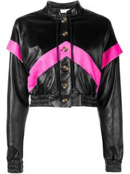 Leather Bomber Jacket Ashley Williams