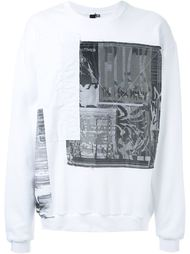 patch sweater Liam Hodges