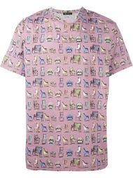 футболка с принтом стульев Versace