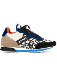 кроссовки с панельным дизайном  Etro
