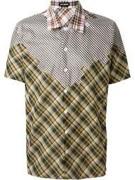 лоскутная рубашка  Raf Simons