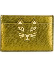 'Feline' cardholder Charlotte Olympia