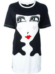 футболка с принтом  Giamba