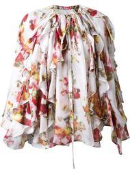 блузка с цветочным принтом   DressCamp
