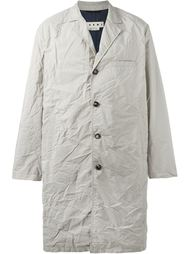 пальто с мятым эффектом Marni