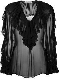 блузка с рюшами Philosophy Di Lorenzo Serafini