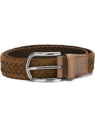weaved buckle belt  Tod's