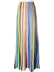 вязаная юбка в полоску  Missoni