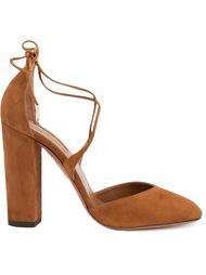 Коричневые туфли 'Karlie' Aquazzura