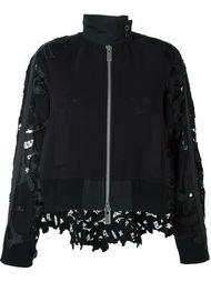 куртка с перфорированным дизайном  Sacai