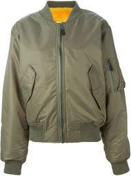 куртка-бомбер с норковой подкладкой Liska