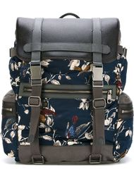 рюкзак с принтом птиц Dolce & Gabbana
