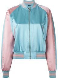 куртка-бомбер с контрастной окантовкой  Alexander McQueen