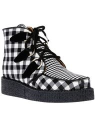 ботинки в клетку  B Store X Underground