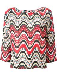 блузка с принтом  M Missoni