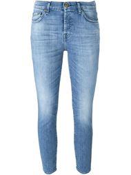 укороченные джинсы кроя скинни  7 For All Mankind
