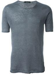 футболка с круглым вырезом Roberto Collina