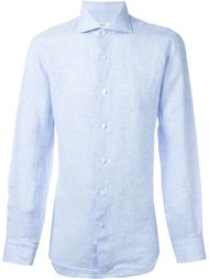 cuff detail classic button down shirt Barba