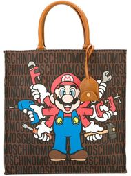 сумка-тоут 'Super Mario' Moschino