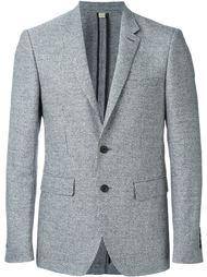 single breasted slim fit blazer Burberry London