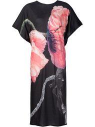 свободное платье с цветочным принтом Area Di Barbara Bologna