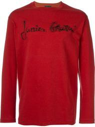 футболка с длинными рукавами и логотипом Jean Paul Gaultier Vintage