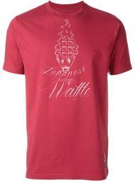 футболка с принтом 'Japanese Indigo Waffle'  Paul Smith Red Ear