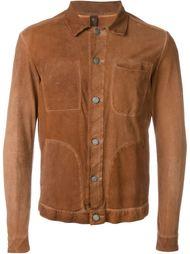 pocket trim detail button up jacket Giorgio Brato