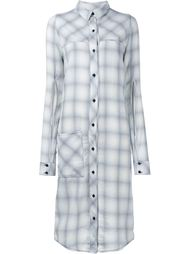 Jordan Check Shirt Dress Filles A Papa