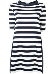 полосатое платье-футболка Moncler