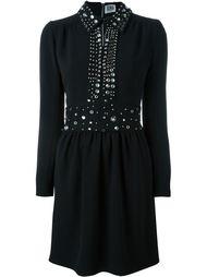 декорированное платье со складками Sonia By Sonia Rykiel
