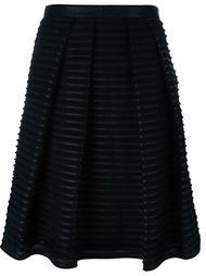 юбка А-силуэта с ребристой отделкой Burberry London