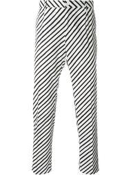 брюки в полоску  Dolce & Gabbana