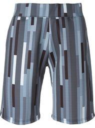 спортивные шорты с геометрическим принтом Christopher Kane