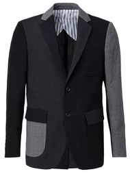 пиджак с лоскутным узором Wooster + Lardini