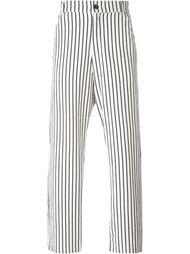 брюки свободного кроя 'Milk Stripes' Barena