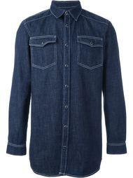 классическая джинсовая рубашка Givenchy